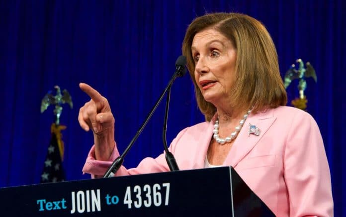 Pelosi: She Wants to Pull Trump Out of the White House by His Hair