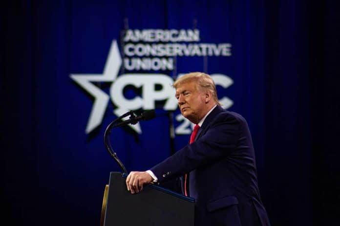 Trump Delivers Message of Unity in CPAC Speech