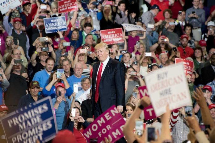 Trump Excites Crowd at Epic Rally