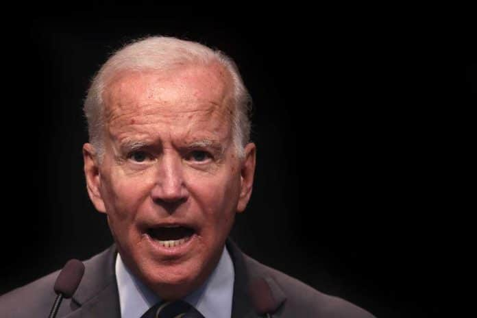 Joe Biden Reacts As Reporter Tells Him America Doesn't Think He Can Lead