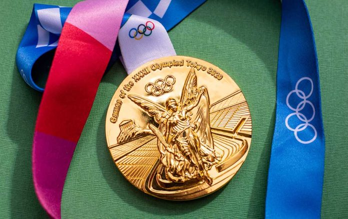 Olympic Athlete Thanks God After Win