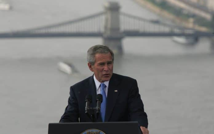George W. Bush Confronted By Iraq War Vet on Camera