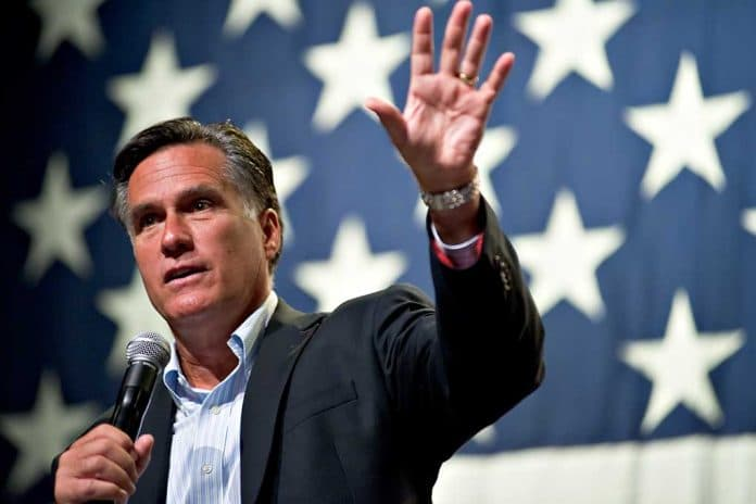 Mitt Romney Joins Republican Filibuster Against Socialist Bill - 'We're All in This Together'